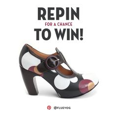 Enter the John Fluevog Boots & Shoes The Arbus Pinterest Contest for your chance to win a pair of your own Arbus shoes from John Fluevog! All you have to do is follow @Fluevog on Pinterest, repin the image on Pinterest to your account and then check