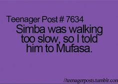 Never too old for Disney Humor:)