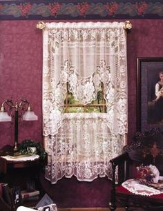 Victorian Rose Curtains