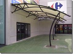 Tensado con lona en PVC, para CC Parque Ferrol