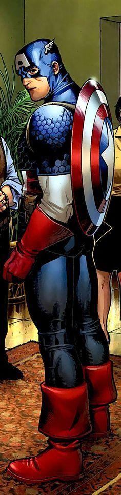 Captain America (Steve Rogers) | art by Jim Cheung