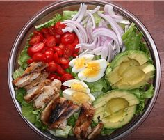 Discover recipes, home ideas, style inspiration and other ideas to try. Healthy Salads, Healthy Cooking, Healthy Eating, Healthy Recipes, Honey Mustard Chicken, Avocado Salat, Fast Dinners, Comfort Food, Avocado Recipes