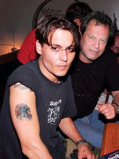 Johnny Depp People | Johnny Depp: A Map of His Tattoos