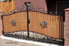 Home Gate Design, Front Gate Design, Main Gate Design, Door Design, House Design, Front Gates, Entrance Gates, Building A Gate, Grill Gate