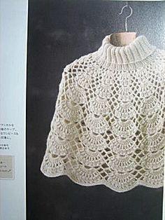 Poncho en ganchillo   -   Crochet Poncho