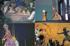 Ramayana collage Ancient Civilizations, Collage, Learning, Painting, Art, Art Background, Collages, Studying, Painting Art