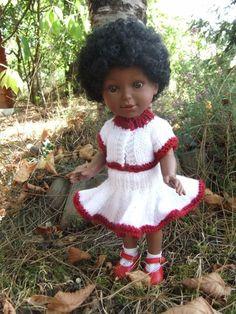 Jupe virevoltante et gilet. Un modèle de Michelle http://laramicelle2210.overblog.com/