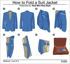 As far as clothing maintenance goes, packing and transporting men's suit and sports jackets is pretty high on the list of aggravating tasks. A good wool jacket combines two major problems when it's not on your shoulders: it's bulky, and it's vulnerable to permanent creasing if a fold gets pressed