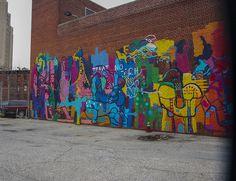 NYC - Graffiti by MichelleLynsey, via Flickr