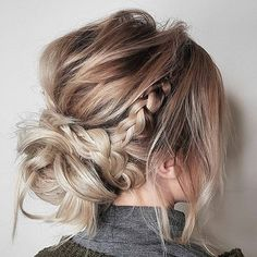 Have no new ideas about updo hair styling? Find out the latest and trendy updo hairstyles and haircuts. Have no new ideas about updo hair styling? Find out the latest and trendy updo hairstyles and haircuts in [Read the Rest] → Updos For Medium Length Hair, Mid Length Hair, Medium Hair Styles, Short Hair Styles, Casual Updos For Medium Hair, Medium Hair Wedding Styles, Casual Hair Updos, Bridesmaid Hair Medium Length, Simple Bridesmaid Hair