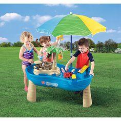 Tropical Island Resort Water Table w/ Bonus Umbrella (TRU Exclusive)