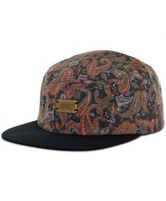 be40ac2c5b8 Official Cap Stone Cold Paisleys 5 panel Baseball Caps