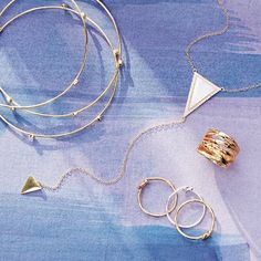 Dainty layered jewelry – the delicate accessory that really packs a style punch.