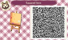 Animal Crossing QR Codes ❤ Sand Box Upper  Left Corner Tile#3 Lower Left Corner