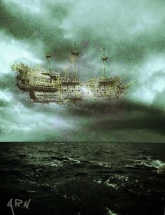 """Reverend Cotton Mather, in his Magnalia Christi Americana, recorded what can be described today as a major UFO sighting. Mather received a letter from a Pastor in New Haven, Connecticut, that described the """"apparition of a ship in the air."""" A large vessel was lost at sea in 1646, and one year later witnesses observed this ship appear in the sky above New Haven."""