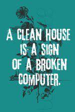 ... or homework :-/
