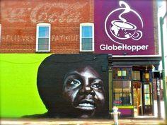 GlobeHopper Coffeehouse & Lounge - amazing coffee shop in Shockoe Bottom