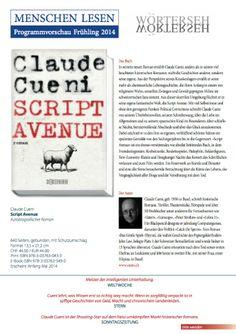 Verlagsprospekt Script Avenue