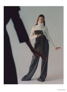 Daria in Heroine with Daria Vlasova - (ID:47554) - Fashion Editorial | Magazines | The FMD #lovefmd