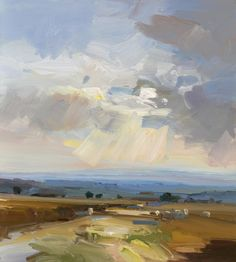 'Autumn Evening Approaches, Ashdown' by David Atkins