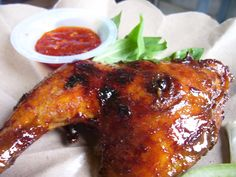 Balinese Seasoning Grilled Chicken - http://topasianrecipes.com/balinese-seasoning-grilled-chicken/