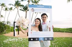 The best weddings are all about the moments, and this Maui fête is full of pretty ones. From the Bride's custom lace wedding dress to the playful Instagram guest book