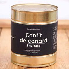 Andeconfit, confit de canard, 2 lår - Vores Marked