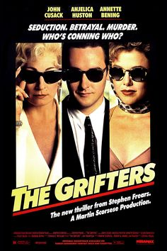 The Grifters (1990) directed by Stephen Frears with a screenplay by Donald Westlake. The third Thompson adaptation in a year.
