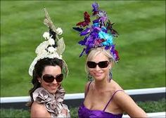 Cool and Unusual Hats on Ascot Ladies Day 2009 Ascot Ladies Day, Run For The Roses, Derby Day, Kentucky Derby Hats, Church Hats, Flower Hats, Royal Ascot, Love Hat, Cool Hats