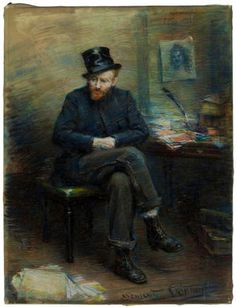 Vincent van Gogh, The Misunderstood / L'Incompris