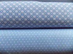 Tissu 100% coton, vendu par 25 cm x 150 cm. Si vous saisissez 2, vous aurez 50 cm x 150 cm et ainsi de suite .. Tissu vert pastel très tendre, décliné en trois motifs, tous très petits. Convient