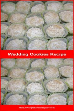 Wedding Cookies Recipe - Daily World Cuisine Recipes Recipe Daily, Whats Gaby Cooking, Pancake Cake, Wedding Cookies, Fun Cookies, Daily Meals, What To Cook, Meal Ideas, Cookie Recipes