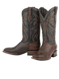 Stetson Cody Mens Cowboy Boots - Square Toe Men s Cowboy Fashion 5d361275a0b2