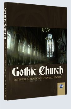 Gothic Church - Cinema 4D £9.95