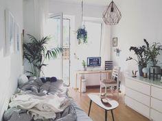Das WG Zimmer Wirkt Gemütlich Und Luftig Frei Gleichzeitig! Die Vielen  Pflanzen Bringen