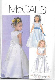 Easy Girls Dress Free Pattern | ... Flower Girl Easter Dress ...