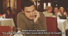 Hes laid-back and low-maintenance. | 37 Reasons Nick Miller Is The PerfectCrush