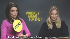 We Asked Tina Fey And Margot Robbie To Figure Out If These Headlines Are Real Or Fake