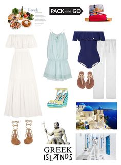 """Greek Islands II"" by cherrypie13 ❤ liked on Polyvore featuring Temperley London, Elizabeth and James, Sophia Webster, Lisa Marie Fernandez, Tory Burch, Steve Madden, Packandgo and greekislands"