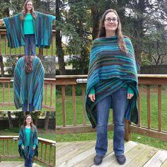 So many ways to wear the Boho Cozy Wrap