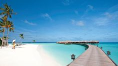 Infused With White Sand Beaches And Turquoise Waters: Constance Halaveli Resort | Freshome