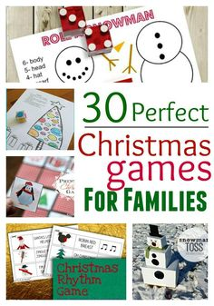 30 Perfect Christmas Games for Families to make family bonding all the more fun!