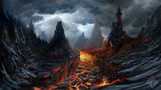 Evil Landscape by jjpeabody.deviantart.com on @deviantART