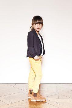 Vêtements enfant : Veste blazer et denim fille