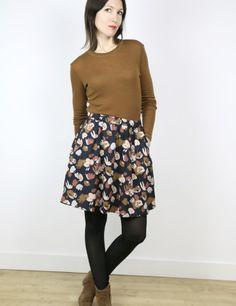 019f26011412 Jupe femme Bonjour patron de couture pochette avec vidéo gratuite