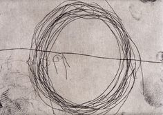 Jannis Kounellis, Etching, drypoint and aquatint on paper