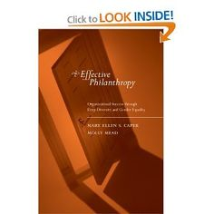 Effective Philanthropy: Organizational Success through Deep Diversity and Gender Equality: Mary Ellen S. Capek,Molly Mead: 9780262532969: Amazon.com: Books