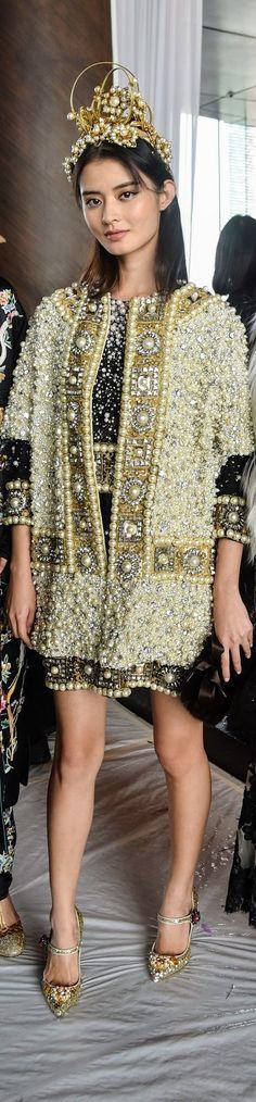 Dolce & Gabbana in Hong Kong Alta Moda Fall 2016  vogue