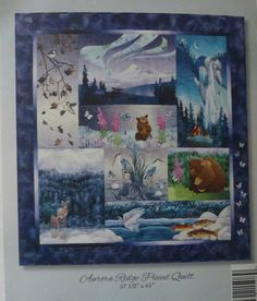 Aurora Ridge Block of The Month by McKenna Ryan~Pre-Cut Laser Applique Kit With Fabric Fast Shipping K200