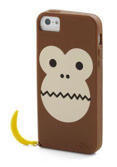 Monkey iPhone case!